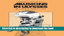 Download Allusions in Ulysses: An Annotated List [Read] Online