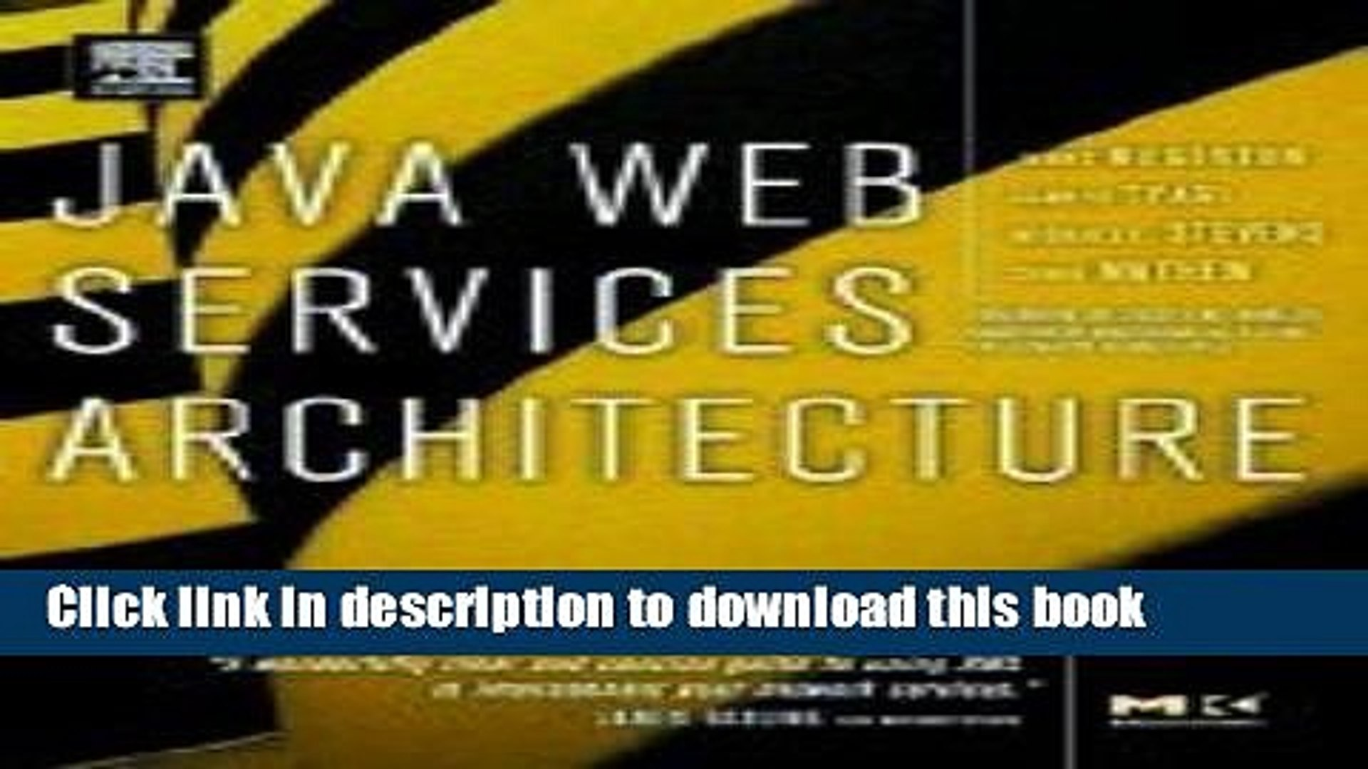 Read Java Web Services Architecture (03) by McGovern, James - Tyagi, Sameer - Stevens, Michael -