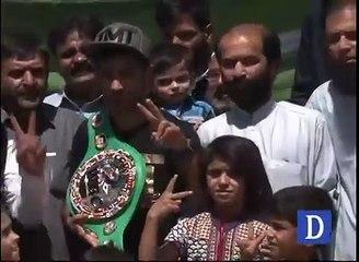 watch Speaker Balochistan Assembly meets boxer Waseem