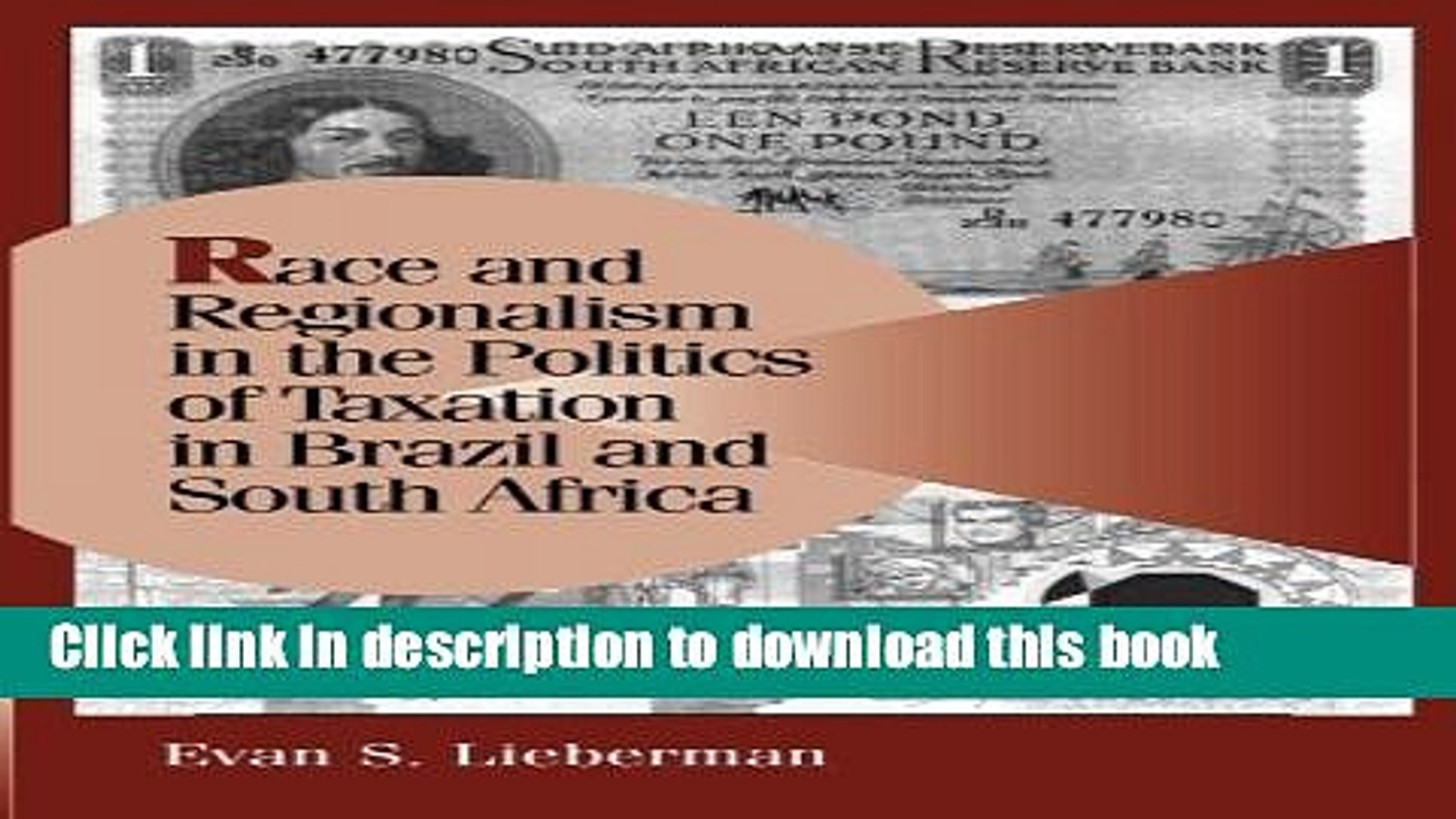 Read Books Race and Regionalism in the Politics of Taxation in Brazil and South Africa (Cambridge