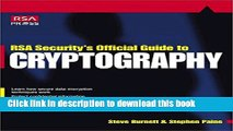 Read RSA Security s Official Guide to Cryptography (Rsa Press) Ebook Free