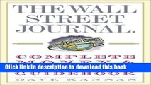 Download Books The Wall Street Journal Complete Money and Investing Guidebook (The Wall Street