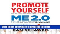 Download Promote Yourself and Me 2.0  PDF Free