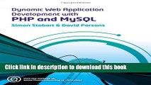 Download Dynamic Web Application Development Using PHP and MySQL  PDF Online