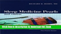 Download Books Sleep Medicine Pearls, Second Edition PDF Online