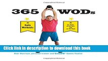 Read Books 365 WODs: Burpees, Deadlifts, Snatches, Squats, Box Jumps, Situps, Kettlebell Swings,