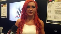 Becky Lynch recaps her first San Diego Comic-Con experience