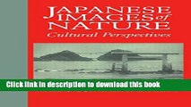 Read Japanese Images of Nature: Cultural Perspectives (NIAS Man and Nature in Asia)  Ebook Online