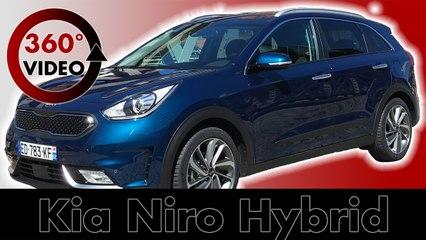 360 Test Drive Kia Niro 2017 Hybrid in City of Hamburg - Test & Review