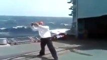Pakistani Navy Ship Hits Indian Navy Ship Watch Indians Reaction