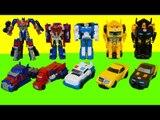 Transformers 1 Step Changers Strongarm Bumblebee Optimus Prime car toys 트랜스포머 스트롱암 범블비 옵티머스프라임 장난감