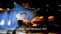 Michael Jackson Dangerous World Tour Rehearsal 1993 Black Or White (Audio Pro) HQ