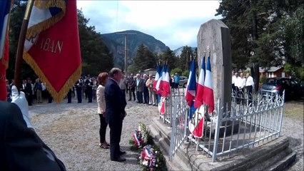 Cérémonie du pont d'Ondres 23 juillet 2016
