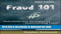 Read Books Fraud 101: Techniques and Strategies for Understanding Fraud E-Book Free