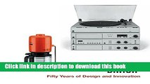 Download Books BRAUN--Fifty Years of Design and Innovation E-Book Free