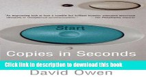 Summary: Copies in Seconds: Review and Analysis of Owens Book