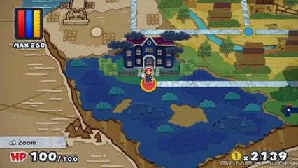 Paper Mario : Color Splash - Gameplay de Paper Mario : Color Splash
