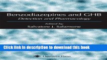 Download Benzodiazepines and GHB: Detection and Pharmacology (Forensic Science and Medicine) Free