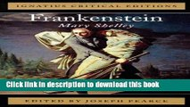 Download Frankenstein: Ignatius Critical Editions PDF Online