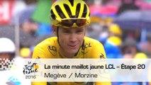 La minute maillot jaune LCL - Étape 20 (Megève / Morzine) - Tour de France 2016