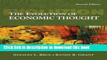 Read Books The Evolution of Economic Thought (with InfoTrac 1-Semester, Economic Applications