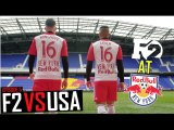 F2 FREESTYLERS TRAIN WITH NEW YORK RED BULLS! - F2 VS USA