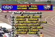 W 100m - Florence Griffith-Joyner - 10.49 - Indianapolis (USA) - 1988 - World Record