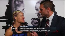 Felice Herrig Post Fight Interview - HD Highlights UFC Fight Night