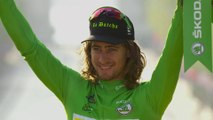 Podium Maillot Vert - Tour de France 2016