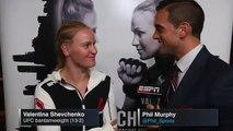 Valentina Shevchenko Post Fight Interview - UFC on Fox 20 Highlights
