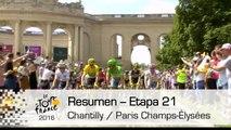 Resumen - Etapa 21 (Chantilly / Paris Champs-Élysées) - Tour de France 2016