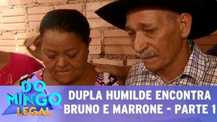 Dupla humilde realiza sonho e conhece Bruno e Marrone! - Parte 1