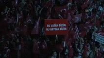 Fetö'nün Darbe Girişimine Tepkiler - İzmirliler Fetö Darbe Girişimini Protesto Etti