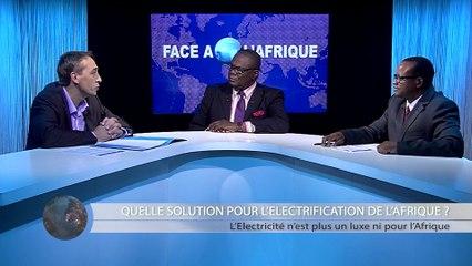 QUELLE SOLUTION POUR L'ECTRIFICATION DE L'AFRIQUE L'ELECTRICITÉ EST ELLE UN LUXE EN AFRIQUE AVEC ROGER BONGOS