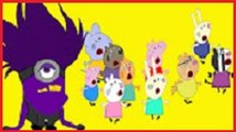 #Peppa Pig #Friends Trampoline Monster Minions #Funny Story #Rainbow Rhymes