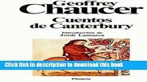 PDF Cuentos de Canterbury/ Tales of Canterbury (Clasicos Universales Planeta) (Spanish Edition)