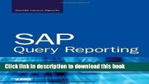 Download SAP Query Reporting Free Books - video dailymotion