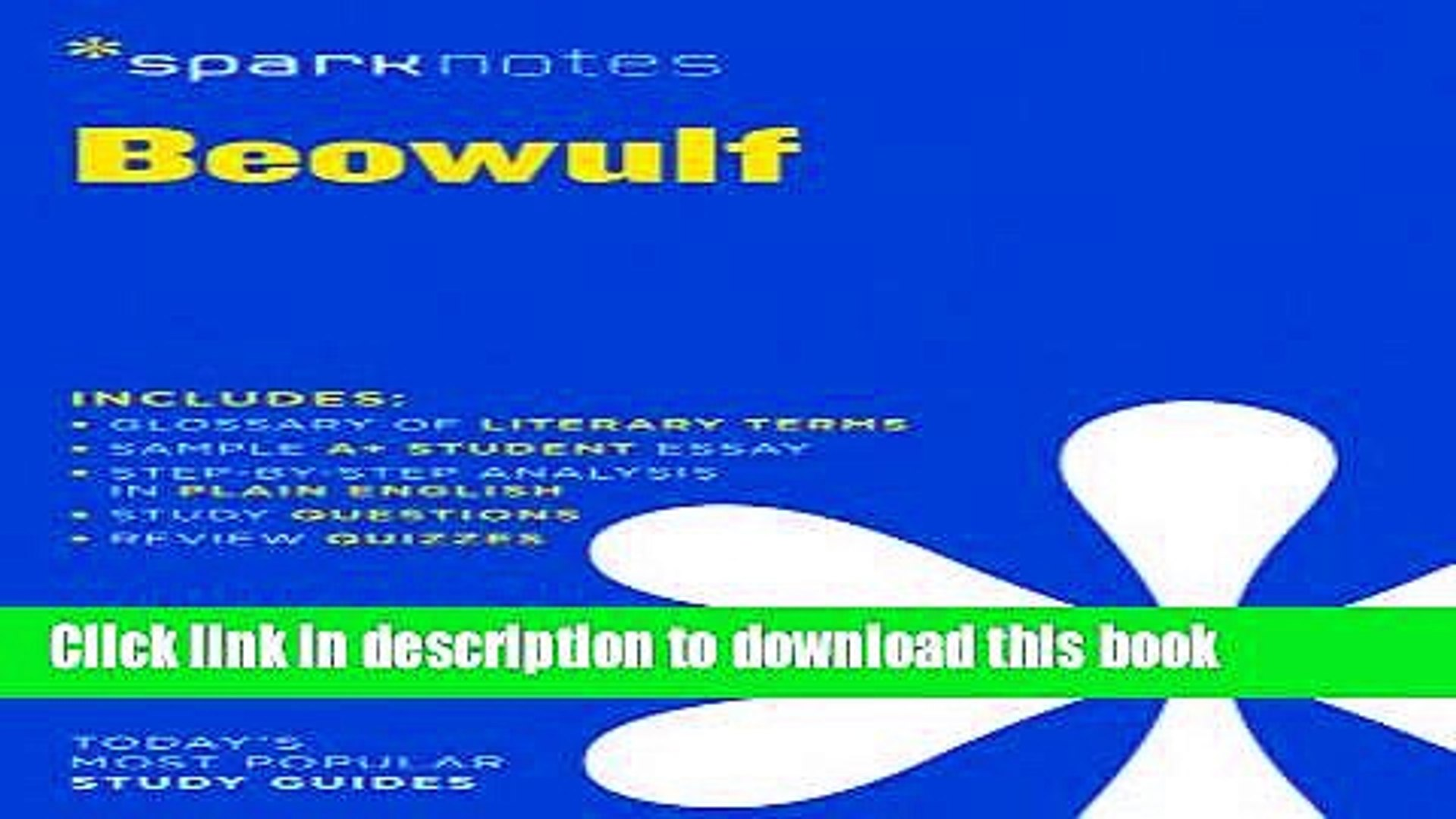 Read Beowulf Sparknotes Literature Guide Sparknotes Literature Guide Series Pdf Online Video Dailymotion Download beowulf sparknotes literature guide read online. dailymotion