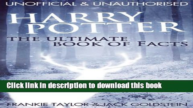 Read Harry Potter - The Ultimate Book of Facts  Ebook Free