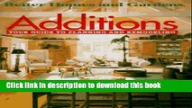 Download Additions: Your Guide to Planning and Remodeling  PDF Free