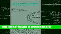 Read Mti and Pulsed Doppler Radar (Artech House Radar Library (Hardcover)) Ebook Online