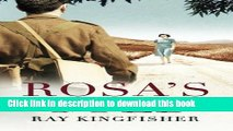 Read Rosa s Gold (Holocaust Echoes) Ebook Free