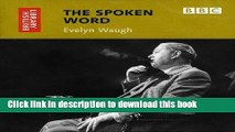 PDF The Spoken Word: Evelyn Waugh (British Library - British Library Sound Archive) [Download]