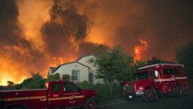 Un gigantesque incendie ravage la Californie