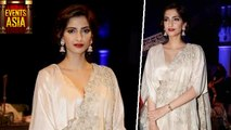 Sonam Kapoor Catch Attention With Her Fabulous Outfit | India Couture Week | Events Asia