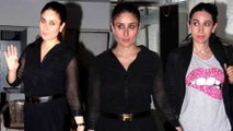 Pregnant Kareena Kapoor Parties Hard In SEXY Black Dress