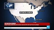 URGENT - Fusillade dans une boîte de nuit en Floride : Au moins 2 morts et 13 blessés