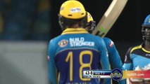 CPL 2016 Match 18 Highlights   Barbados Tridents vs St Lucia Zouks