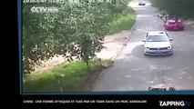 Chine : Une femme attaquée et tuée par un tigre dans un parc animalier, la vidéo choc !