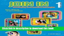 [PDF]  Join In 1: Student Book and Audio CD Pack  [Download] Online